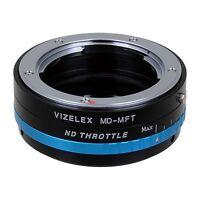 Fotodiox Lens Adapter Vizelex ND Minolta MD Lens to Micro Four Thirds (MFT) Body