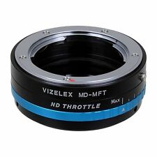 Fotodiox Obiettivo Adattatore vizelex ND Minolta MD Lens to Micro Four Thirds (MFT)