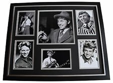 Tommy Steele Signed Photo Framed Display AFTAL