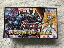 Yu-Gi-Oh! Trading Card Game Legendary Hero Decks OPENED Box: Cards in superb con