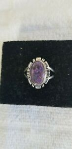 Mojave Purple Turquoise Ring Size 11