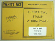 WHITE ACE - ISLE OF MAN  PAGES PART 1 - 1973 / 1989    NEW     #WA-MAP1