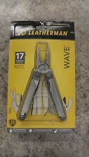Leatherman Wave 17 Tools Pocket Multi-Tool & Sheath 830039 NEW