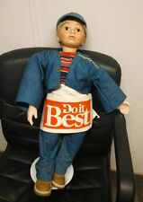 """Fasset Lane Hardware Store Advertising Doll, Manikin, 28"""" Tall!  Cute!"""