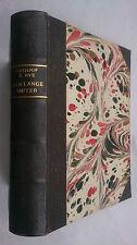 FRITHJOF E BYE.DEN LANGE VINTER.1ST EDITION ANTIQUE LEATHER 1944 DANISH