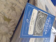 football Programme Chelsea v West Bromwich Albion 1952/53 f a cup