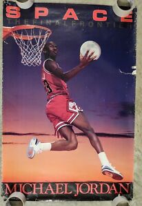 Michael Jordan Vintage Poster Space The Final Frontier Costacos Brothers Bulls