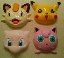 """POKEMON""""Halloween style"""" MASKS 4pk Jigglypuff/Mew/Pikachu/Meowth. Pokemon Go!"""