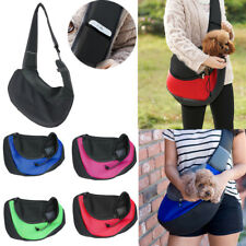 UK Pet Dog Cat Puppy Carrier Comfort Tote Shoulder Travel Bag Sling Backpack