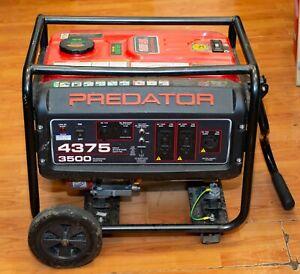 (MA3) Predator 4375 Max Startin/3500 Running Gas Powered Generator Local Pick Up