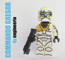 LEGO Custom -- Commando Gregor - Star Wars Clone Wars Trooper Mini figure 75157