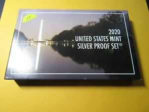 2020-S US Mint Silver Proof Set #17 w/ West Point Nickel - No Reserve OGP & COA