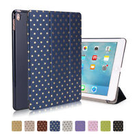 Smart Leather Cover Stand & PC Hard Back Case for Apple iPad 2 3 4 Air Mini Pro