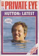 PRIVATE EYE 1087 - 22 Aug - 4 Sep 2003 - Tony Blair - HUTTON: LATEST