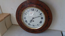 LOVELY VINTAGE WALL CLOCK - JANTAR - MADE IN USSR / RUSSIA - 13 INCH DIAMETER