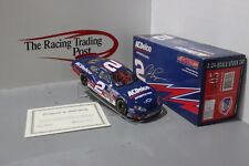 2005 Clint Bowyer #2 ACDelco 1:24 Diecast Autographed In Red Paint Pen