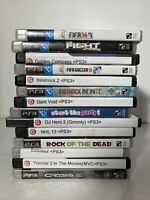 Sony PS3 PlayStation 3 Game Lot Of 14 Games Bioshock Fifa Crysis Golden Compass