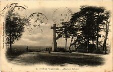 CPA forét DE FONTAINBLEAU - the cross of calvary (166774)