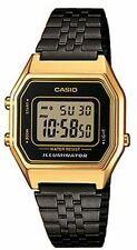 Casio LA-680WEGB-1A Orologio Donna polso Vintage Nuovo Crono Sveglia,Luce
