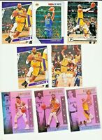 2019-20 Panini Chronicles Prestige Lebron James Los Angeles Lakers 15 Card Lot