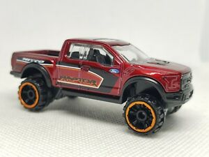 Hot Wheels '17 Ford F-150 Raptor Diecast Model - Excellent Condition