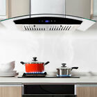 30 Inch Kitchen Wall-Mounted Range Hood 700CFM Touch Glass Panel Three Speed New photo