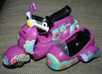 Littlest Pet Shop LPS Blythe Motorbike Purple Vehicle w/ Sidecar   -BB#