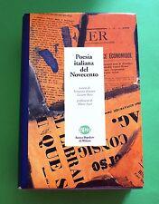 Poesia italiana del Novecento - E. Krumm T. Rossi - Ed. Banca Popolare di Milano