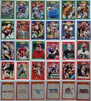 1989 Pro Set Football Cards Complete Your Set Pick From List 401-561 +Super Bowl