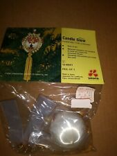 """Vintage Beaded Ornament Kit From Lee Wards """"Candle Glow"""""""