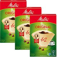 MELITTA Genuine Original Type 1x2 Aromapor Pour Over Coffee Filters x 120