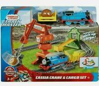 Thomas & Friends Trackmaster MOTORIZED Cassia Crane & Cargo Train Set Brand New!