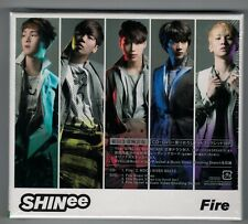 """SHINee """"FIRE"""" JAPAN CD+DVD TOCT-40470 *SEALED"""""""