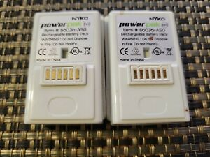 Xbox 360 White Rechargeable Battery Pack Lot Of 2  Nyko Power PAK