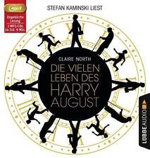 Die vielen Leben des Harry August von Claire North (2016, MP3-Hörbuch)
