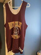 Vintage 90's Reversible Boston College Champion Practice Basketball Jersey XL