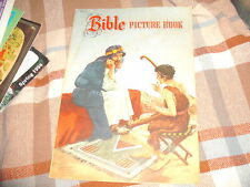 "12 X 8 3/8 "" Bible Picture Book, Whitman, 957-10, 1950, Lajos Segner*"