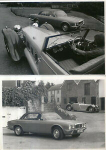 Daimler Double Six Coupe Two period b/w Photographs ex Neill Bruce