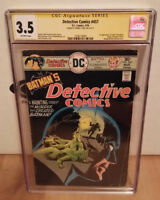 Detective Comics #457 CGC SS (3.5) Signed Denny O'Neil First Leslie Thompkins