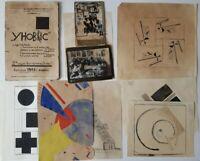 UNOVIS Maganize II Edition 1921 Photos Suprematism Sketches Lissitzky Chasnik