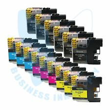 15 PK New LC203XL 203 Ink Cartridges For Brother J4620DW J480DW J5720DW J885DW
