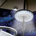 48 LED Umbrella Night White Lamp Yard Garden Lawn Outdoor Pole Light Patio New