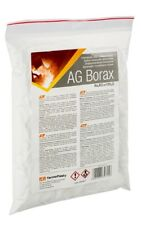 BORAX -  pure powder - Flux for soldering and welding with brazing solders