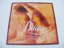 Bilitis  Original  Film  Soundtrack 1978 Music By  Francis  Lai  LP Vinyl Record