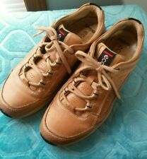 ECCO Leather Casual Walking Shoes Caramel Brown Women's EUR Size 39