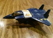 1985 Gobots Blue Leader 1 Fighter Jet Mr-25 - Bandai Macau