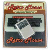 50 Fifty Concepts Retro Computer Mouse and Pad Brand New Sealed