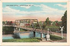 Vine Street Bridge in Poplar Bluff MO Postcard