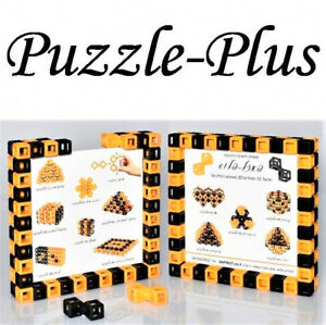 Brain Teaser: 12 different 3D puzzles from the same pieces Puzzle-Plus Level 2-6