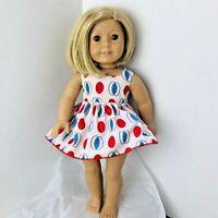 American Girl Doll Kit Kittredge 2006 Blonde Hair Blue Eyes Pleasant Co Retired